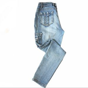 Suko jeans- skinny stretchy denim size 8